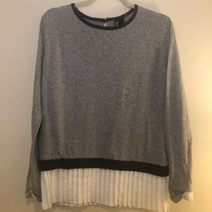 Love Token Knit Sweater Blouse Top Medium